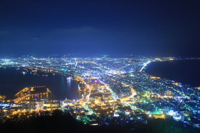 3. 홋카이도의 최고 야경을 감상하려면 [하코다테산]