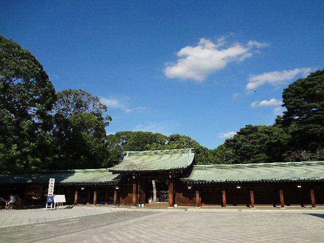 3. 도쿄의 역사를 느낄 수 있는 관광명소「메이지신궁」