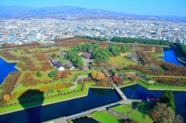 4. 홋카이도가 자랑하는 별모양의 상징 [고료카쿠]