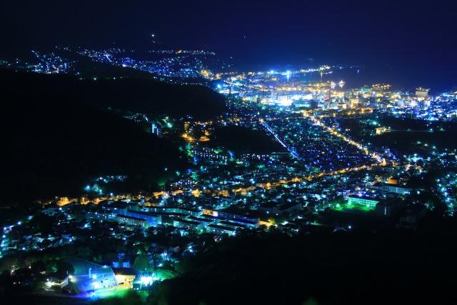 6. 오타루의 아름다운 경관을 보려면 [텐구산]