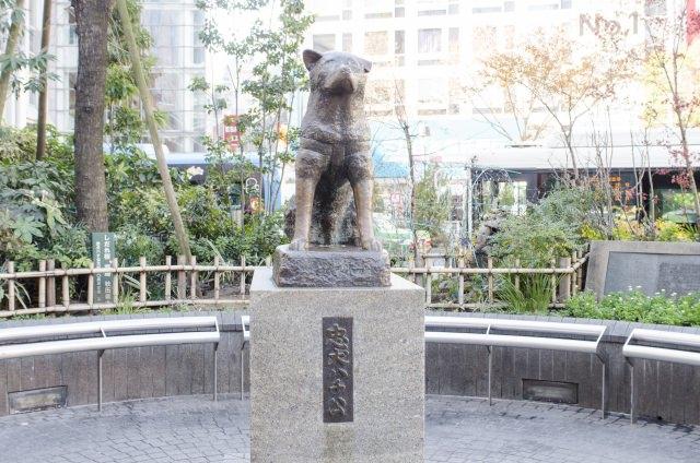 2. 사진촬영의 명소 「시부야 하치코」
