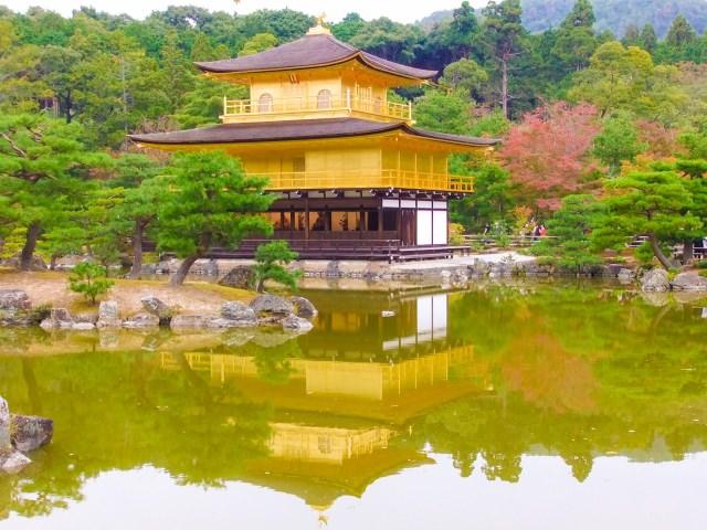 """【2위】 황금빛 누각은 교토의 대명사! """"킨카쿠지(金閣寺)"""