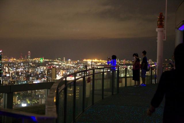 3. 오사카시를 한눈에!「스카이빌딩 전망대」