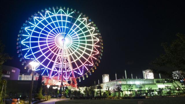 3. 도쿄의 야경을 높은 곳에서 즐길 수 있는 장소「파렛또타운 다이칸란샤」