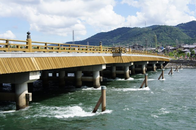 """3. 일본 가장 오래된 다리중 하나! 역사의 """"우지바시"""""""