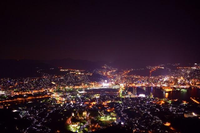 10. 나가사키에서만 볼 수 있는 특별한 야경「이나사야마」