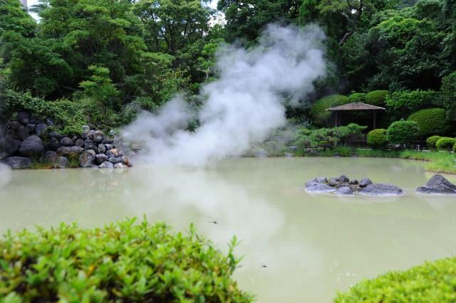 1. 오이타현의 관광지라고 하면 '벳푸 지옥 메구리(순례)'